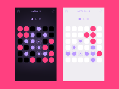 Big Touch (mobile game) puzzle game interface design ux mobile app ios ui