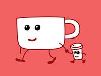 Mr. Mug and Cuppy