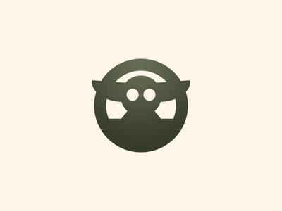 Baby Yoda branding design logo vector icon star wars baby yoda starwars yoda baby