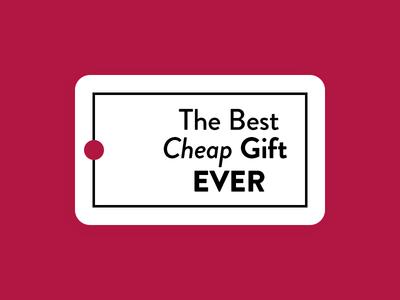 Holiday Gift Tag Warmup Shot holiday cards gift tag typography design