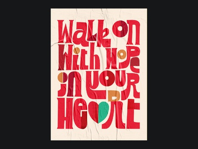 Walk On inspiration poster art poster collection ynwa futbol premier league sports illustration football lettering typography design poster typogaphy soccer liverpool fc liverpool