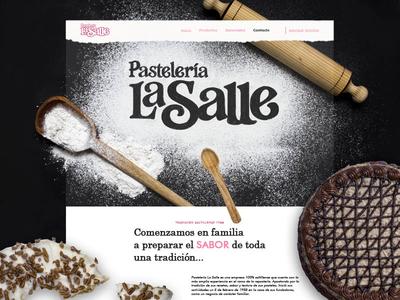 Pastelería La Sallle - Main site