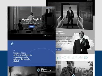 Ahu Media Landing Page