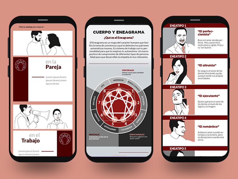 Javier Muro LP - Mobile teraphy responsive laptop internet web design design digital business ux ui eneagrama website