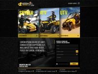 2013 Casarin can-am landing page