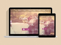 2015 Mecasei.com custom wedding site
