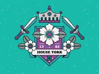 house york - the white rose