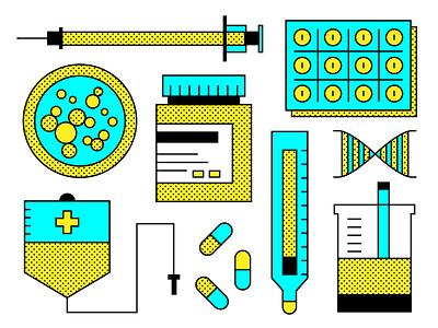 public health medicine health medical flat design vector illustration