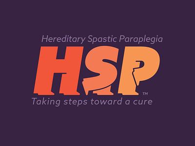 HSP Awareness typography legs awareness disorder disease