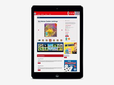 Schmidt Spiele Ipad web ux ui spiele schmidt responsive laptop design