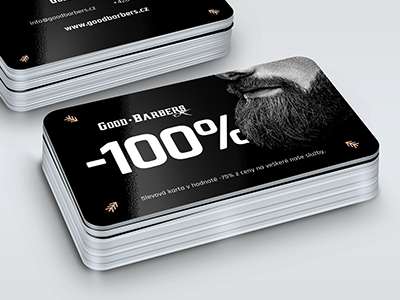 Good Barbers client cards