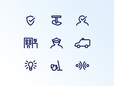 Mini icon pack FREE ⤓ color outline icons icon artwork outline vector clean digital ui design icon