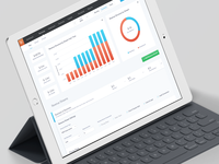 Revenues Dashboard for iPad