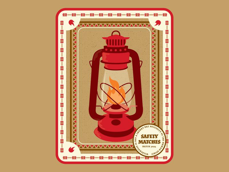 Match Box Lantern