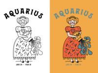 Folksy Aquarius