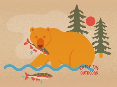 Bear Feasting