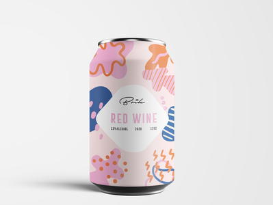 Packaging Design - Brik - Red wine graphic design pattern design pattern illustration adobe illustrator cc adobe photoshop cc design brand identity wine branding brand design branding packaging design package packagedesign packaging
