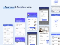 Apartment Assistant App Main Interface