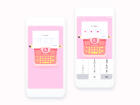 Enter The Password For Pink Diary App
