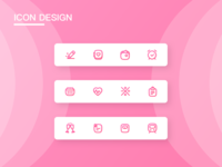 Icon Design For Pink Dairy App 2