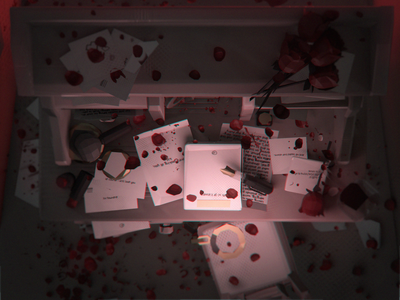 Deadends Triptych [3/3] - shot #02 low poly ar particles three.js c4d character design isometric videogame blender 3d