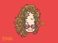 Stickers round 3: the actress
