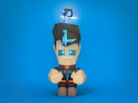 Videogame character: Sadness