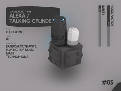 Amazon Alexa / Talking Cylinders