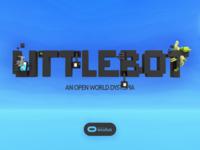 LittleBot title (mockup)
