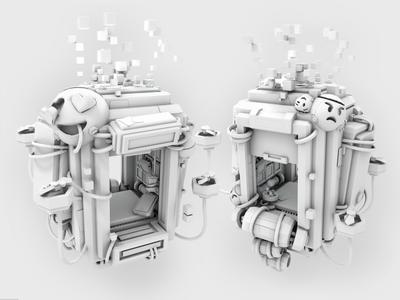 VR Elevator (no texture)