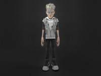 Punk Teen Character: Maximilian (front)