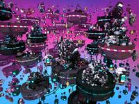 Lowpoly Universe - render #02