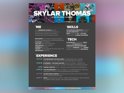 My Resume - redone for 2019
