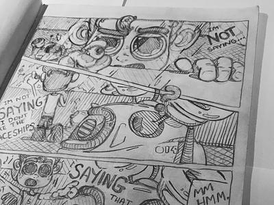 The Adventures of Skyguy illustration robots 2d skyguy hero boy daily pencilsketch sketch cartoon comicstrip adventures