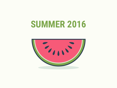 Summertime simple watermelon