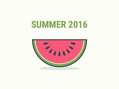 Summertime simple watermelon