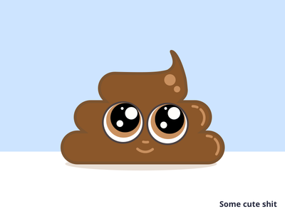 Some cute shit poop emoji