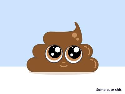 Some cute shit poop emoji