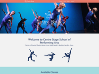 Centre Stage Website