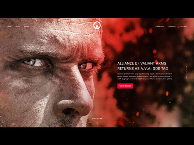 FPS Game A.V.A: DOG TAG Rebranding