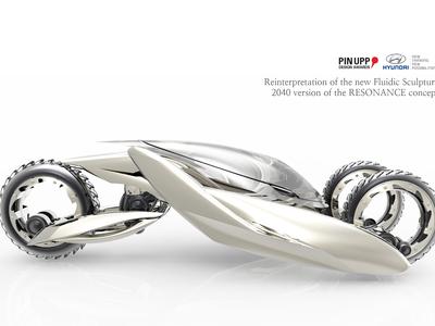 3 wheel concept car desgin