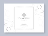 Cosmetic brand 'DANCHEA' Packaging