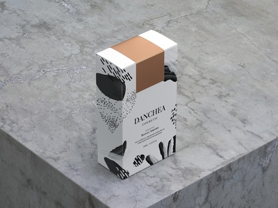 DANCHEA Cosmetic Packaging design