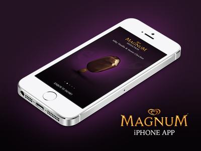 Magnum iPhone App Concept