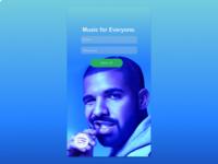 Daily UI 001: Sign Up [Drake]