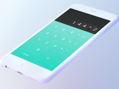 Daily UI 004: Calculator simple calculator dailyui004 dailyui