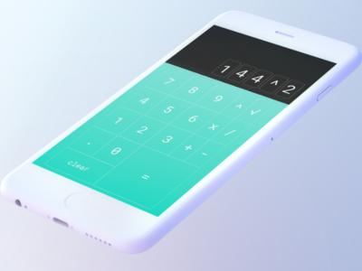Daily UI 004: Calculator