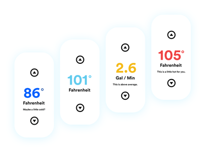 OXO Interface Colors ui ux