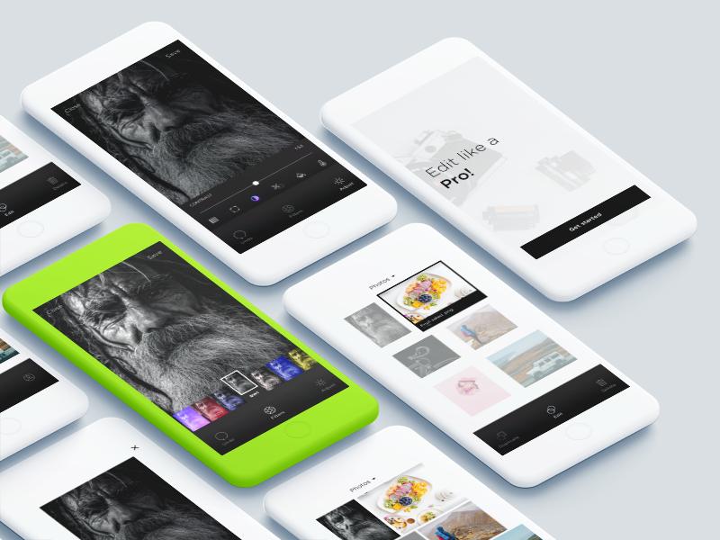 Photo Editing app – Sketch Freebie