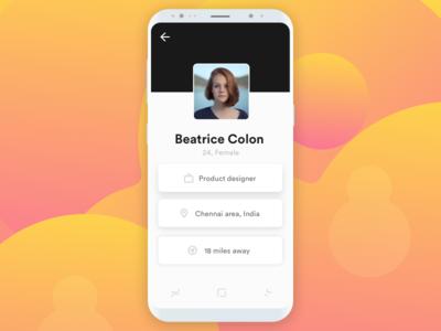 Minimal User Profile UI - 6